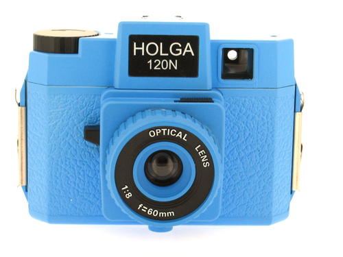 Holga 120 N Medium Format Film Camera (Blue)