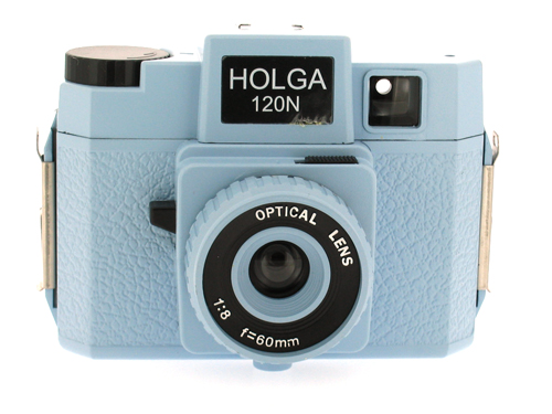 Holga 120 N Medium Format Film Camera (Light Blue)