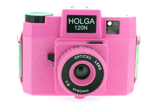 Holga 120 N Medium Format Film Camera (Pink)