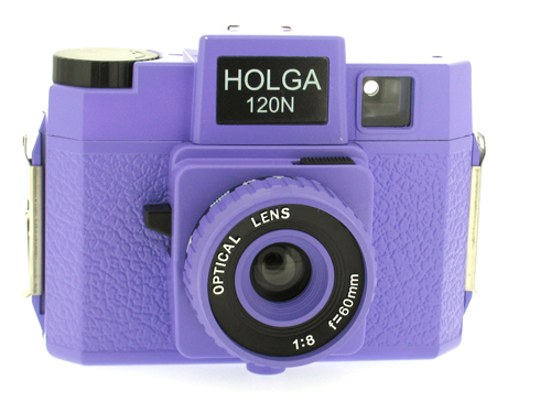 Holga 120 N Medium Format Film Camera (Violet)