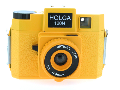 Holga 120 N Medium Format Film Camera (Yellow)
