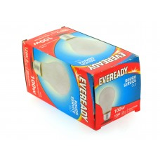 10 x Eveready 100w Pearl BC GLS Light Bulb S5796 Warm White