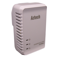 Aztech Value 500AV HomePlug Adapter  PL-HL117E