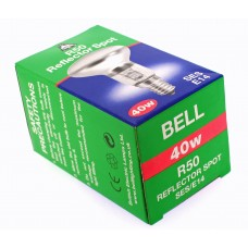 10 x Bell R50 40w SES E14 02710 Reflector Spot Bulb Dimmable