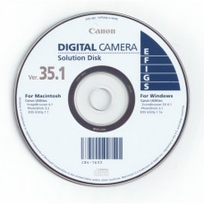 Canon Digital Camera Solutions Disk ver 35.1