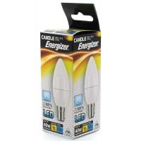 Energizer LED 40w (5.9w) Daylight White B15 SBC Small Bayonet Candle Bulb