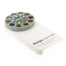 Holga Lens and Filter Turret DLFT-IP4 for iPhone 4/4s WHITE