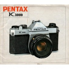 Pentax K1000 - Used Instruction Manual