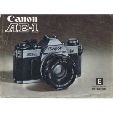 Canon AE1 - Used Instruction Manual