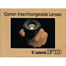Canon FD Interchangeable Lenses - used book