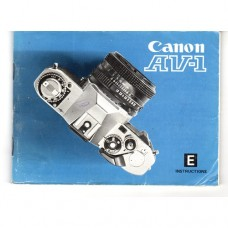 Canon AV1 - Used Instruction Manual