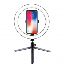 10 inch LED Ring Light with Tripod Stand & Phone Holder