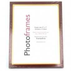 Framesfirst 7 x 9in (17.8 x 22.8cm) Glass Photo Frame