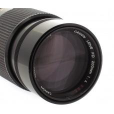 Canon FD 200mm f4  S.S.C Telephoto Lens