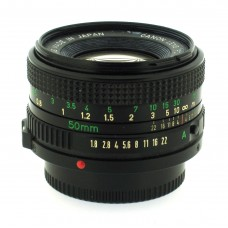Canon FD 50mm f1.8 Standard Lens