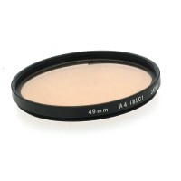 49mm Olympus A4 (81C) Filter