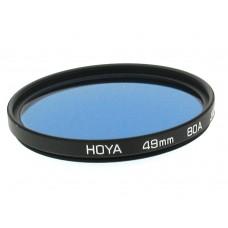 49mm Hoya 80A Filter