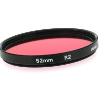 52mm R2 Red Filter