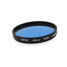 49mm Hoya 80B Filter