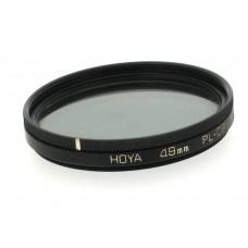 49mm Hoya PL-CIR Circular Polarising Filter