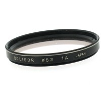 52mm Soligor Skylight 1A Filter