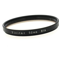 52mm Vivitar 81A Filter