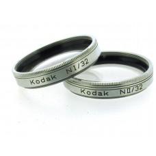 Kodak NI/32 and NII/32 Close-up Lenses