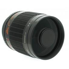 Centon 500mm f8 Mirror Telephoto Lens - Canon EOS EF Lens Mount