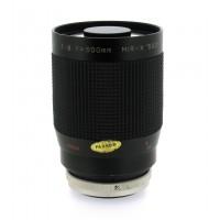 MIR-X 500mm f8 Mirror Telephoto Lens - Canon FD Lens Mount