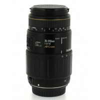 Sigma 70-210mm f3.5-4.5 Zoom Lens for Canon EOS - EF Lens Mount